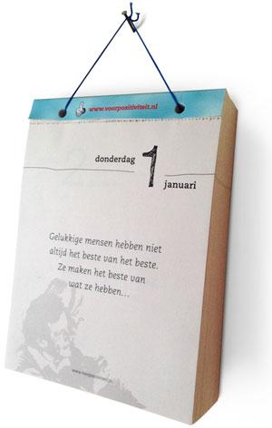 365 Tage Abreißkalender Druckerei